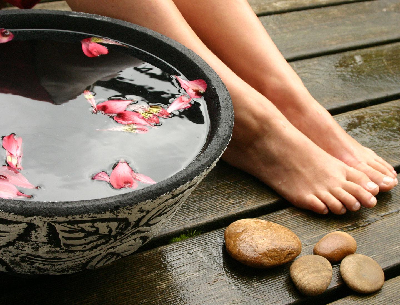 Ванночка для ног с содой в домашних условиях 87